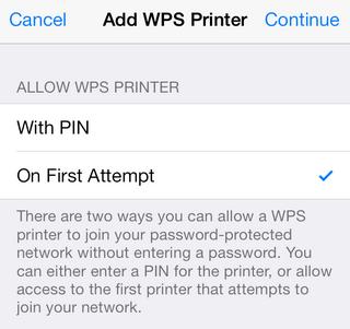 Apple AirPort WPS