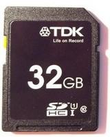 TDK 32GB SDHC