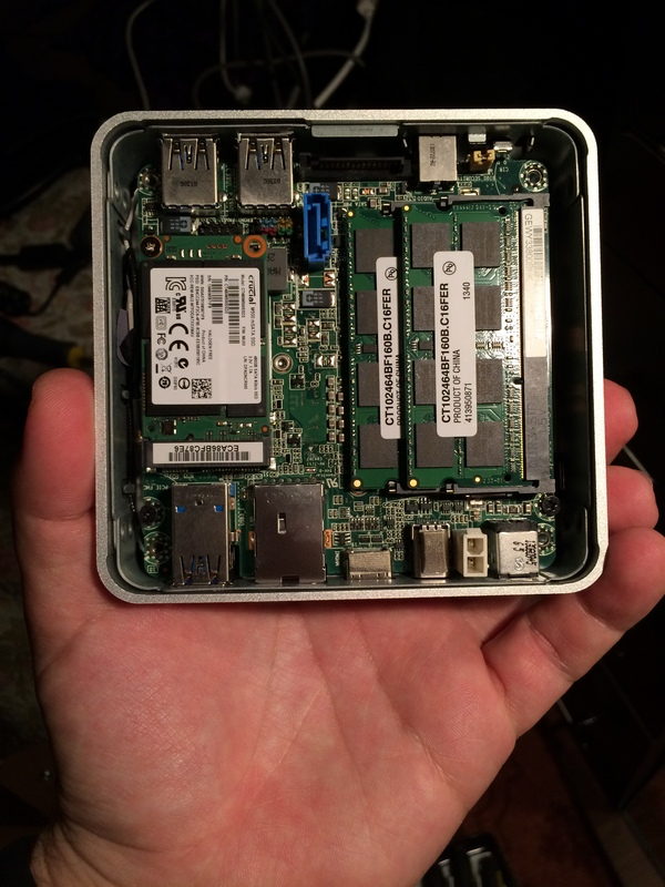 Intel NUC inside