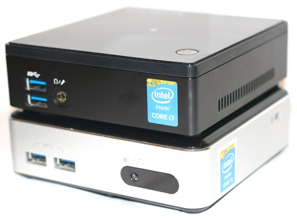 Intel NUC i5 and Gigabyte BRIX i7