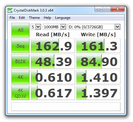 WD40ERFX CrystalDiskMark 3