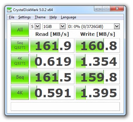 WD40ERFX CrystalDiskMark 5