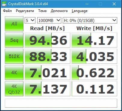 CrystalDiskMark5