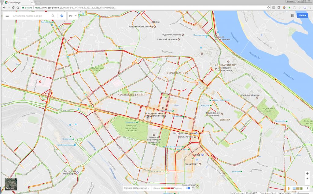 Google online map
