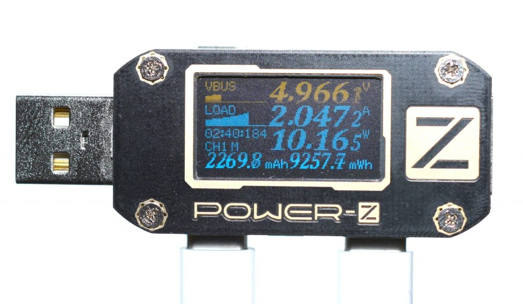 Power-Z KM001 USB Power Meter