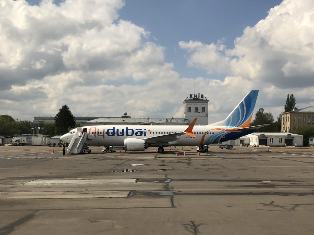 FlyDubai plane