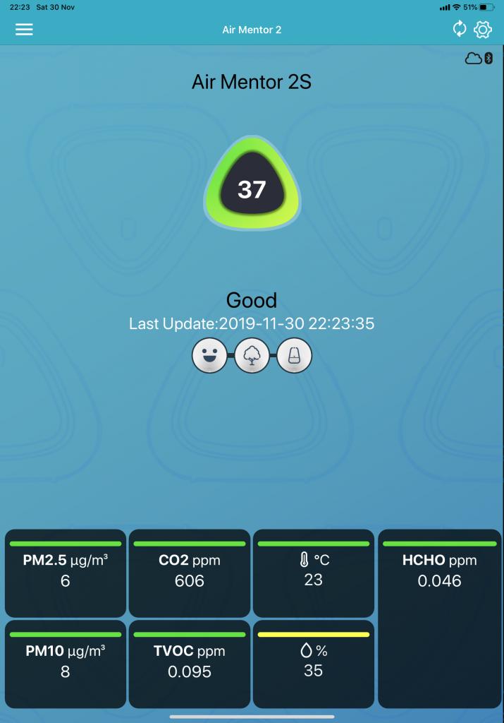 Air Mentor 2 iPad application